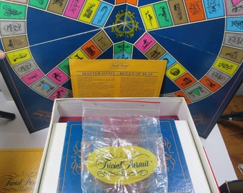 Vintage Master Trivia Game w/ 4 Bonus Card Decks Baby Boomer, All Star Sports, Genus II, Adult Joker's Editions 1981-1985