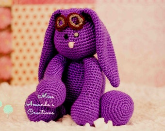 Mim mim inspired Purple Bunny