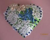 Hand Crafted Felt Heart