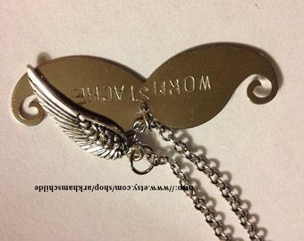 Castiel / Misha Wormstache necklace