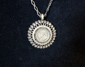 FINAL SALE Jaipur Hara- JH321 - Silver  Necklace