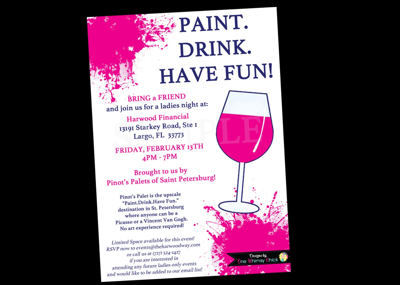 Wine Party Invitations – sweetkingdom.co