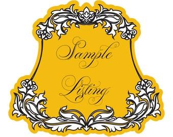 Sample Listing ~~ Wedding Invitation Suite Set