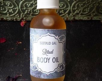 Organic Body Oil // RITUAL // toxin free moisture for Bath, Body & Massage // Organic  Vegan  Cruelty Free  Natural Skincare