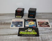 Lot of 8 Vintage Atari Games