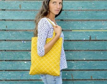 tote bag. yellow bag. tote. corn yellow tote bag