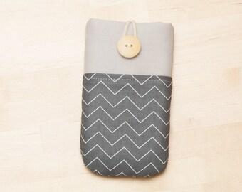 Nexus 5x sleeve / iPhone 6s Plus sleeve / nexus 6p sleeve / iphone 5 sleeve / sony xperia sleeve  / iphone 4s case - charcoal -