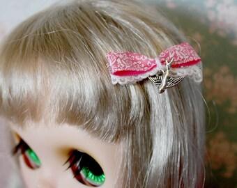 Blythe Silver Sparrow hair clip