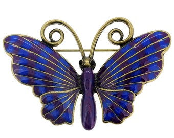 Blue Butterfly Pin Brooch 1001281