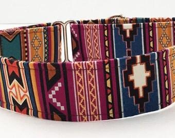 Southwest Adjustable Martingale Dog Collar - Made to Order -