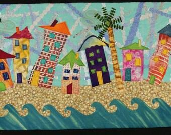 Handmade Art Quilt - Vacation Homes