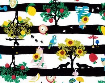 2015 Kayo Horaguchi - Come and Go   -In Black Stripe cotton Linen - 50cm -