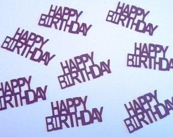 Happy Birthday Confetti - Set of 12
