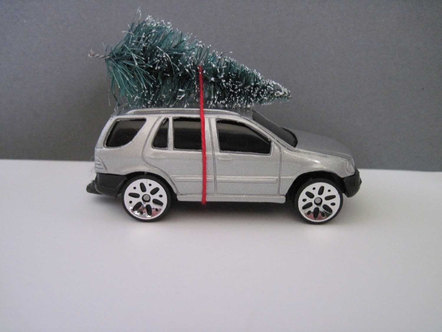 Mercedes benz toy car christmas ornament or embellishment for Mercedes benz christmas ornament
