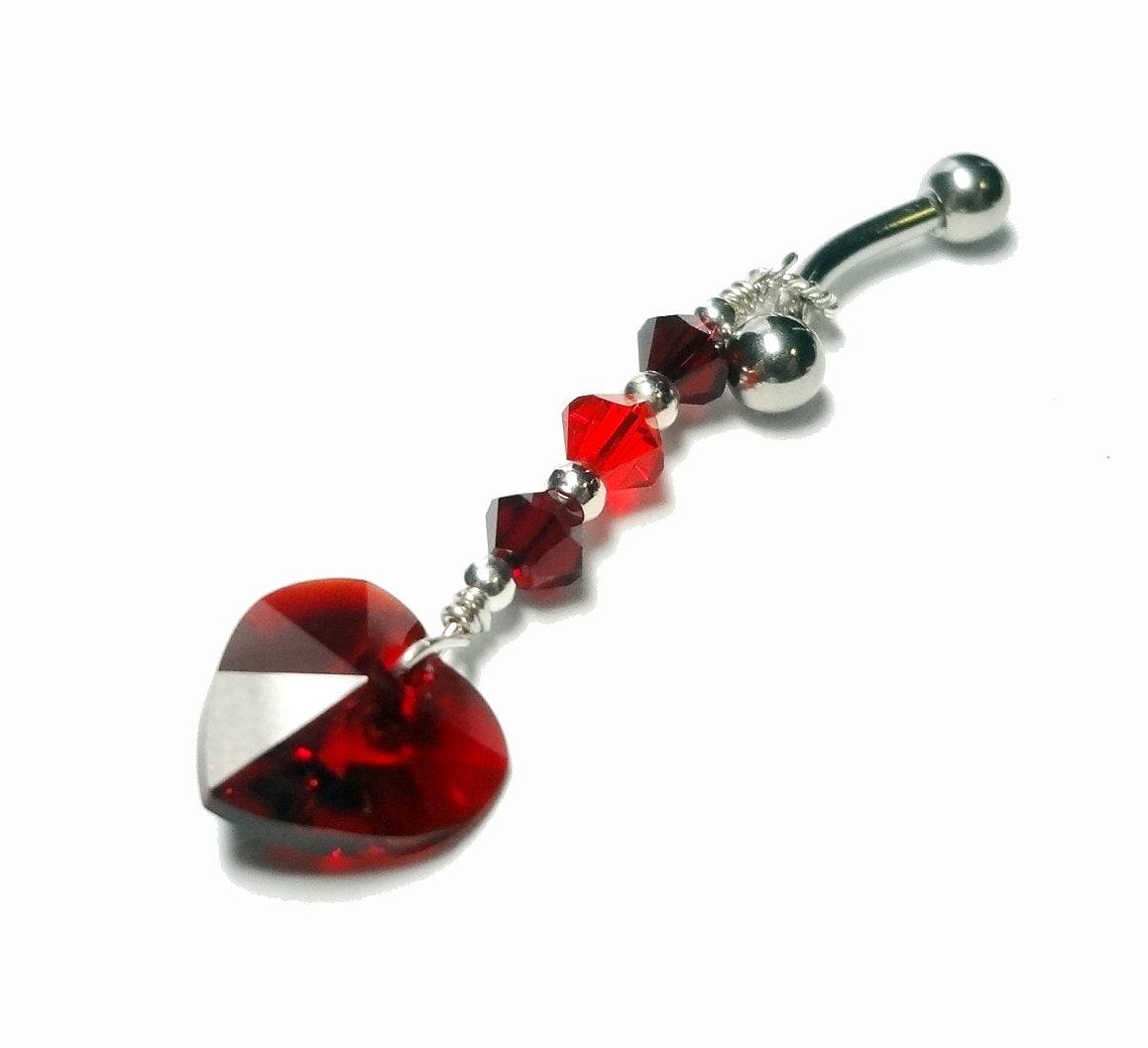 Heart VCH Piercing VCH Jewelry Belly Ring Intimate Body