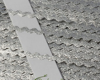 Metallic trim - 4mm metallic trim - silver (X6000XC29) - 5 meters