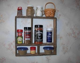 Seasoning rack old country kitchen look