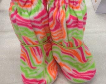 Neon Bright Slippers