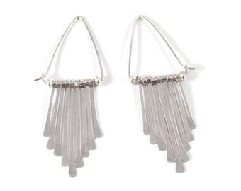 Dangle Earrings Sterling Silver Earrings Chandelier Earrings Boho Earrings Bohemian Earrings