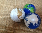 JOY To The World Christmas Globe Interactive Ornament by AmberRaeCreations