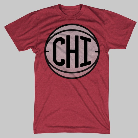 Chicago basketball vintage retro t shirt for Retro basketball t shirts