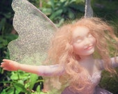 OOAK Handmade poseable polymer clay Fairy Doll