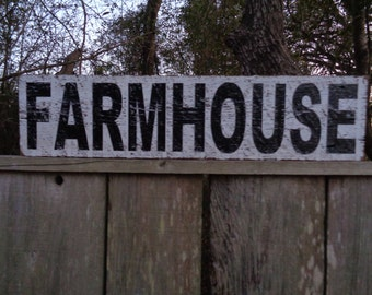 Farmhouse Sign 11.25x60, Fixer Upper Sign, Rustic Signss