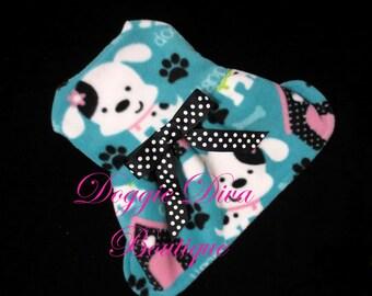 Dog Coat, Dog Fleece Dress, Dog Coat Dress, Dog Sweater, Cute Dogs Puppy - XXS, XS, Small or Medium