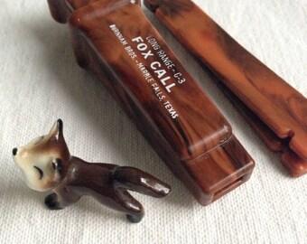 Vintage fox call  hunting tool  farm supply
