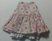 "Baby Alive  And Waldorf Doll Clothes Shabby Chic  Adorable Dress 10"" 12"" Or 15"""