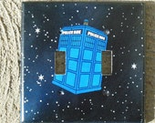 Police Box Tardis Dr Who Inspired Double Light Switch Plate Cover