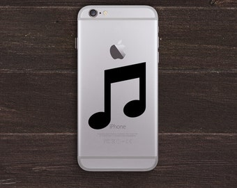 Music Notes Vinyl iPhone Decal BAS-0212