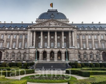 Photograph of Royal Palace Brussels Belgium