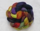 Roving - Merino Wool, Hand Painted Metropolitan