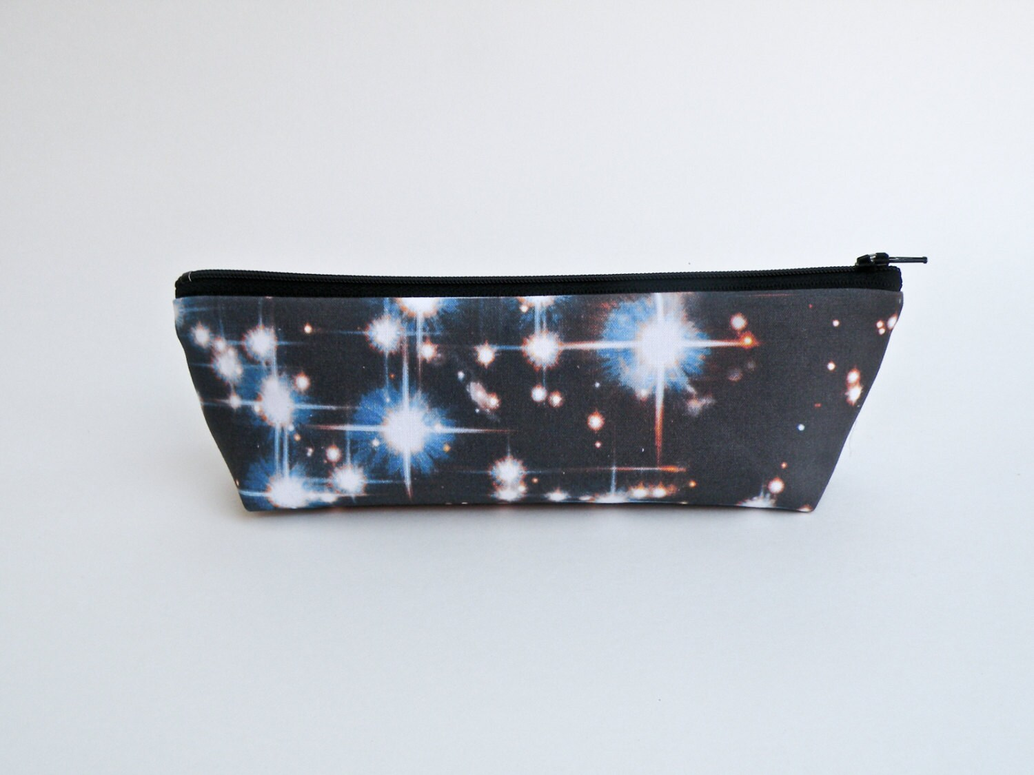 Outer space pencil case galaxy zipper pouch makeup bag for Outer space fabric uk