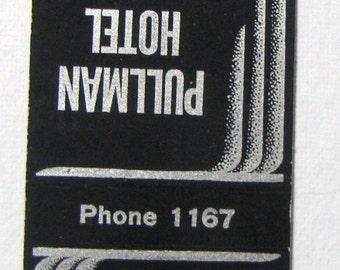 1940s The Pullman Hotel Washington State Phone 1167
