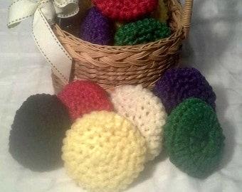 12 Nylon Crochet Dish Scrubbers