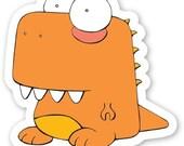T. rex Sticker - Dinky Dinosaurs