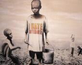 Banksy Poster Print - I Hate Mondays  - Multiple Paper Sizes