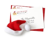 Christmas Address Labels, Custom Christmas Labels, Holiday Stickers, Holiday Labels, Return Address Labels, Cartoon Caricature
