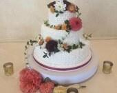 Cake Stand 14inch Classic White