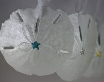 Sanddollar Christmas Ornament