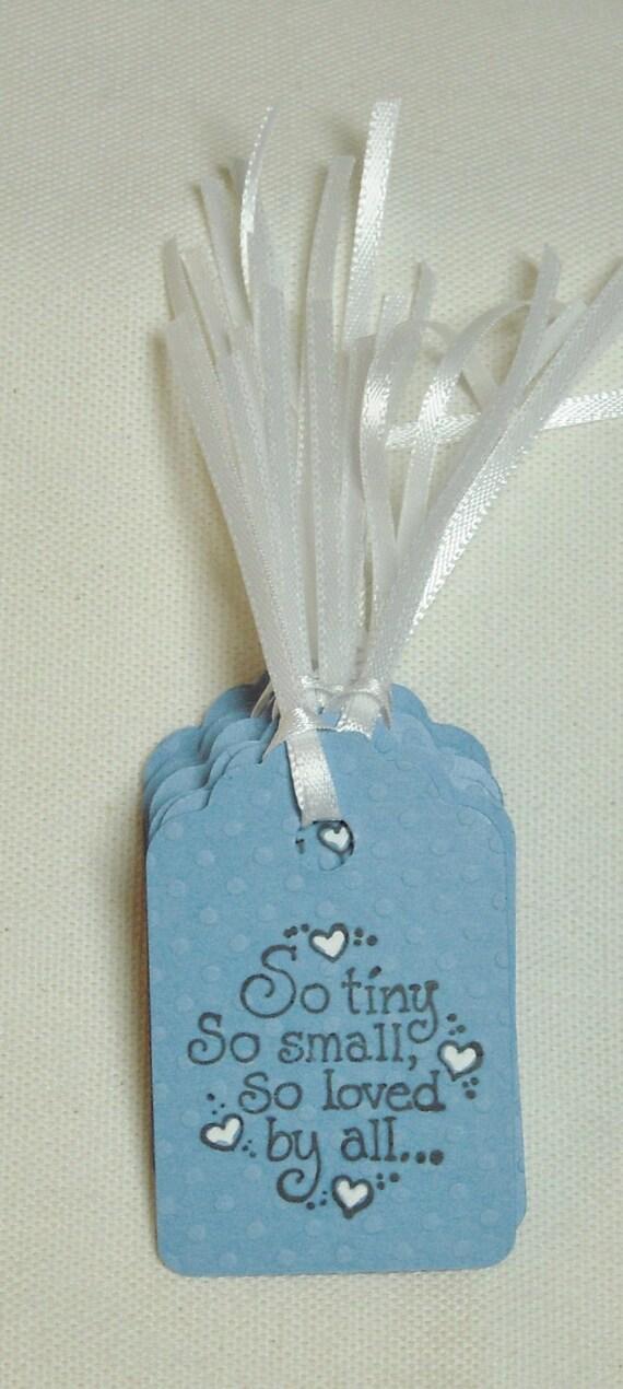 New Baby Boy Gift Tag : Baby boy gift tags newborn blue