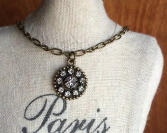 Dainty Bling Necklace