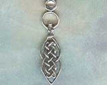 Celtic Goddess Set with Moonstone Sterling  Jewelry Pendant Gh050Mnstn