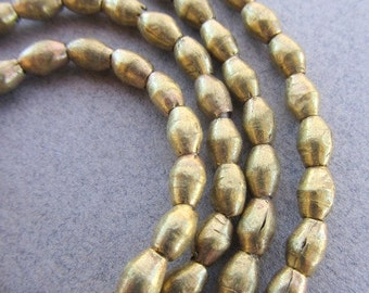 African Brass Spacer Beads