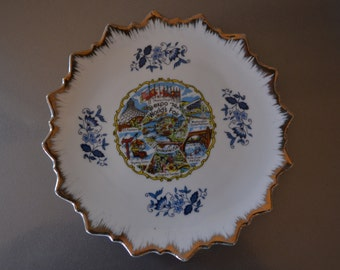 Vintage Collectable Souvenir Plate - 1974 Worlds Fair
