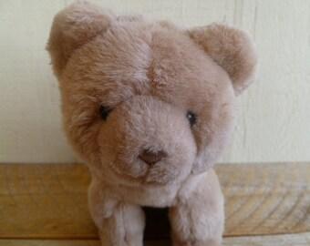Vintage Kinder Gund Plush Bear 1990