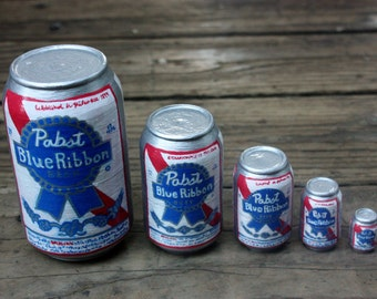 Pabst Blue RIbbon Beer Matryoshka dolls