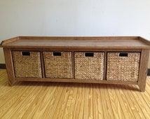 Popular Items For Storage Bench On Etsy